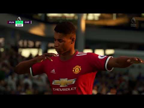 Fifa 18 Demo PS4 Manchester United V Chelsea Plus A Look At Stubhub Center Stadium