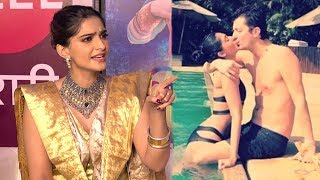 Video Sonam Kapoor's SHOCKING Reply On MARRIAGE With Boyfriend Anand Ahuja After Virat Anushka Marriage MP3, 3GP, MP4, WEBM, AVI, FLV April 2018