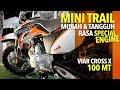 MOTOR TRAIL INDONESIA HARGA 9 JUTAAN  | VIAR CROSS X 100 MT