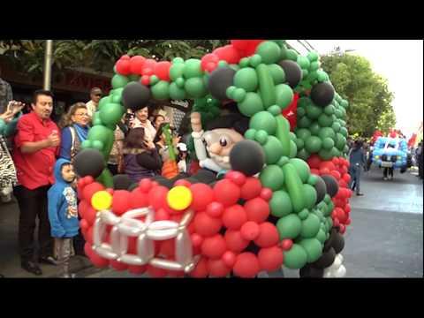 Desfile de Globos Gigantes en el Paseo de la Sexta Avenida