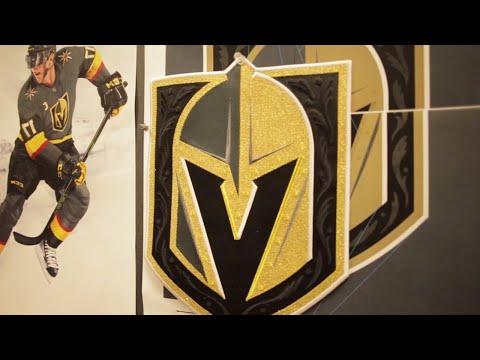 Building the Vegas Golden Knights logo