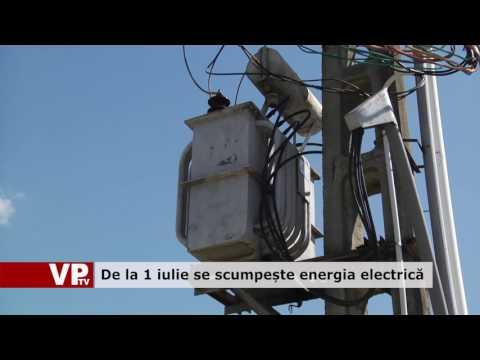 De la 1 iulie se scumpește energia electrică