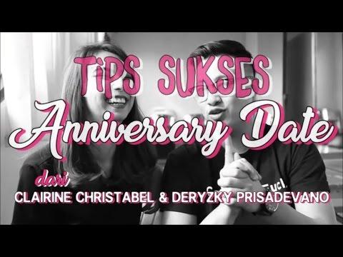 Tips Sukses Anniversary Date dari Clairine Christabel & Deryzky Prisadevano