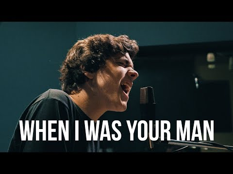 Bruno Mars - When I Was Your Man (Cover by Alexander Stewart) (видео)