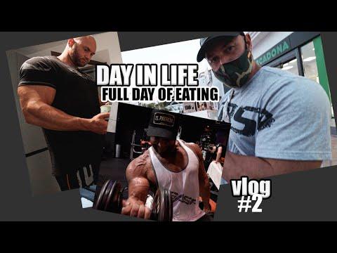 FULL DAY OF EATING I BODYBUILDING BULKING DIET