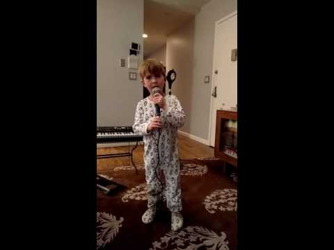 Sebastian Sings Star Spangled Banner