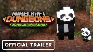 Minecraft Dungeons: Jungle Awakens - Official Launch Trailer by IGN