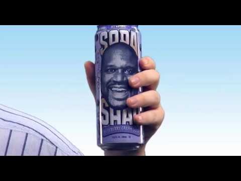 FUNNY Shaqs Blueberry Cream Soda Commercial