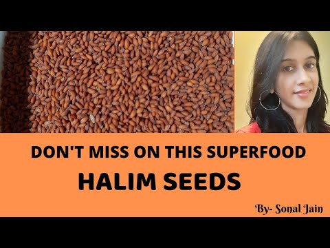 Halim Seeds Ke Fayde Aur Nuksaan   Chansur/Aliv/Garden Cress Seeds Ki Puri Jankaari   (Hindi)