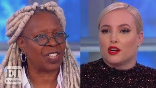 Whoopi Tells Meghan McCain To 'Stop Talking' On 'The View'