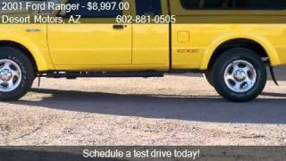 2001 Ford Ranger Edge SuperCab 4.0 4WD - for sale in Phoenix