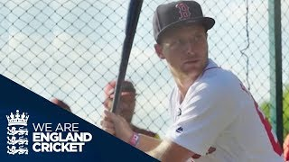 Jos Buttler And Alex Hales Play For Boston Red Sox And L A Dodgers - MLB Home Run Derby 4th Of July