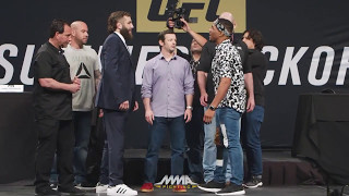 Video UFC Summer Kickoff Press Conference Face-Offs – MMA Fighting MP3, 3GP, MP4, WEBM, AVI, FLV Oktober 2018