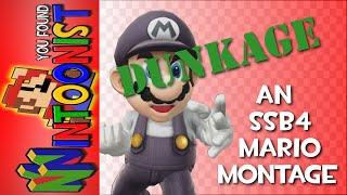 Dunkage – A Smash 4 Mario Montage