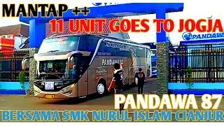 Video PERSIAPAN DAN PEMBERANGKATAN 11 UNIT BUS PANDAWA 87 !!! MP3, 3GP, MP4, WEBM, AVI, FLV Mei 2019