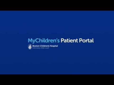 boston - MyChildren's is a secure, easy-to-use way to access some of your child's medical information, pay bills on-line, confirm or cancel appointments and even communicate with Boston Children's clinician...