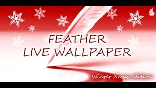 Feather Live Wallpaper YouTube video