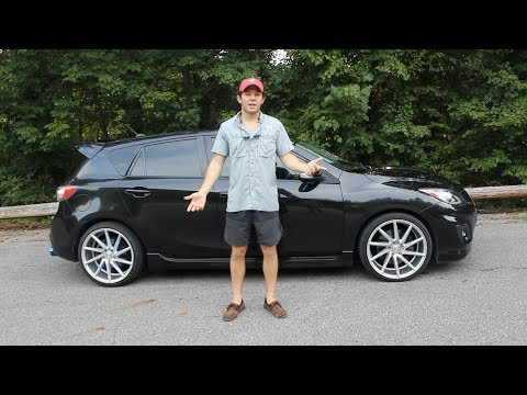 2012 Mazdaspeed 3 Vossen Wheels and an Exhaust: College Cars Episode 21