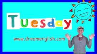 Tuesday Song for the Classroom, Days of the Week Songs
