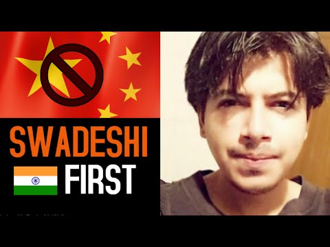 Swadeshi First initiative | Boycott china | 4 Places to buy Indian products [ New Version ]