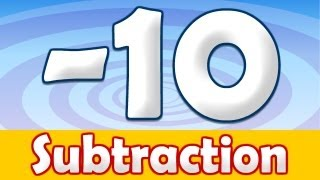 Subtraction - 10, Math Song