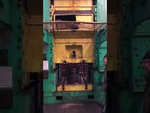 Knuckle Joint Press TMP VORONEZH K504.003.844, 2500TN 1978