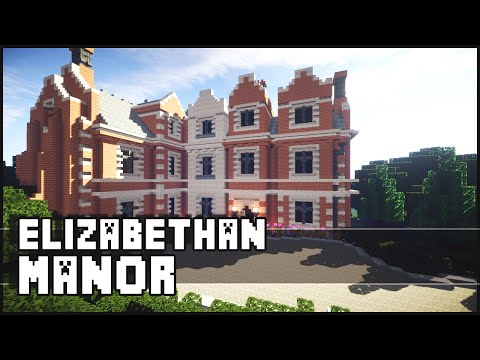 Manor - Minecraft - Elizabethan Manor The Minecraft Inspiration Series! Give it a LIKE if you did enjoy. Don't forget to subscribe ▻ http://goo.gl/yCQnEn Shaders for 1.8 Tutorial - http://goo.gl/q6jx4A...