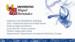 Umh2225 2013-14 Lec4.1 Ejercicio 1-Previsión De Potencia