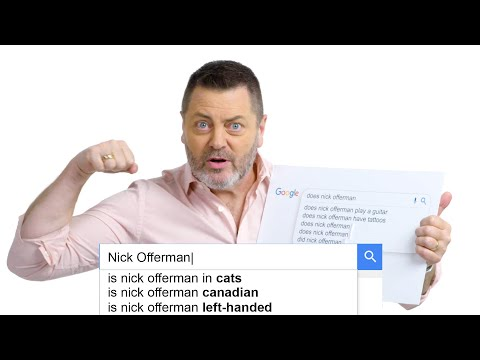 Nick Offerman Answers the Web's Most Searched Questions | WIRED