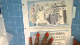 Inexpensive clear Stamp Storage Tip by Avery