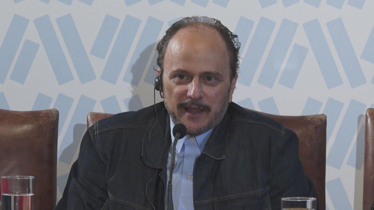 Συν.Τύπου του βραβευμένου με Πούλιτζερ συγγραφέα  Jeffrey Eugenides Στο Δημαρχιακό Μέγαρο της Αθήνας