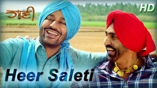 HEER SALETI - Latest Punjabi Song Of 2013 From HAANI Movie | Harbhajan Mann Songs | Full HD