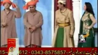 Zafri Khan&Nasir Chinyoti As Darbari With Iftikhar Thakur 0092 344 6130 700