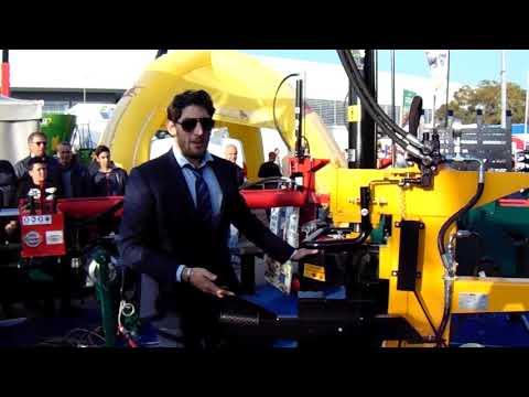 Dimostrazione Spaccalegna Mundial Vjmar da 15 ton. corsa 1000