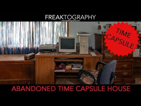 Exploring Video In Abandoned And Derelict Time Capsule House