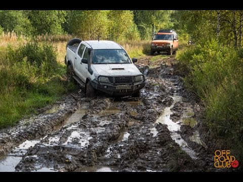 Тест оff-road шин Goodyear, BFGoodrich и Mickey Thompson