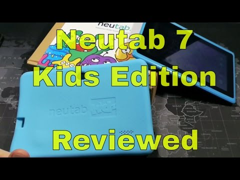 Neutab 7 Kids Tablet - Reviewed