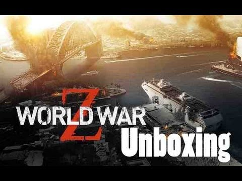 World War Z Blu Ray Unboxing (Unrated Version)