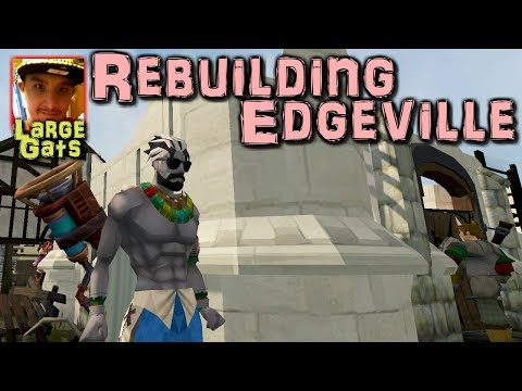 Rebuilding Edgeville! - Stream showcase (видео)