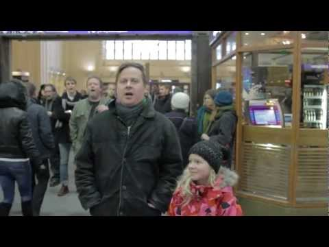 presidenttivaalit - This flashmob and video was independently created by supporters of Pekka Haavisto. mieskuoropekka@gmail.com.