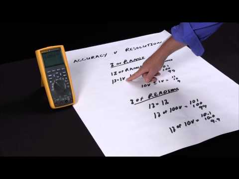 What is Accuracy When Selecting a Multimeter?