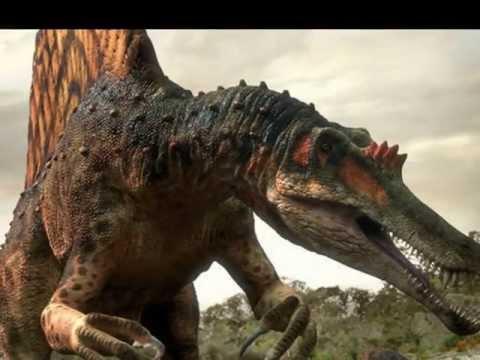 Spinosaurus vs T-rex