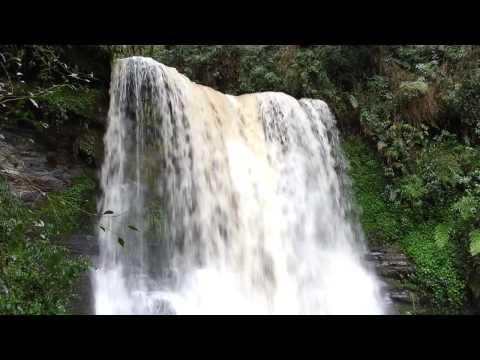 Cachoeira em Alfredo Wagner-SC. Sítio 241.