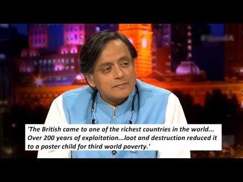 Shashi Tharoor argues why British Rule destroyed India, North Korea & Liberalism