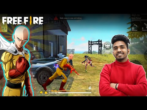11 KILLS BOOYAH WITH ONE PUNCH MAN | FREE FIRE