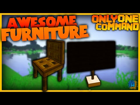 Furniture With One Command Chairs Tables Tvs In Vanilla
