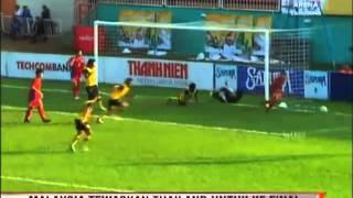Vietnam Newspaper Cup 2012. Malaysia u21 win 1 - 0 visit siputhijau.com