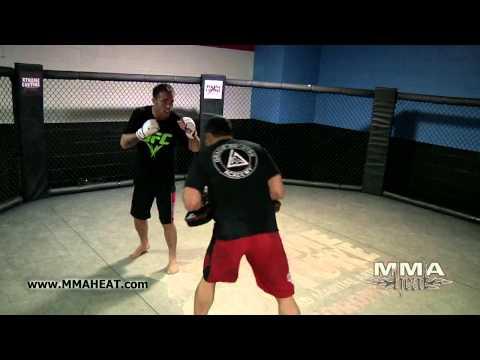 Jake Shields UFC 129 Workout with Tareq Azim