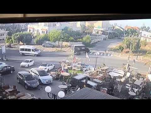 רוכב אופנוע נפגע מרכב בעוספיה