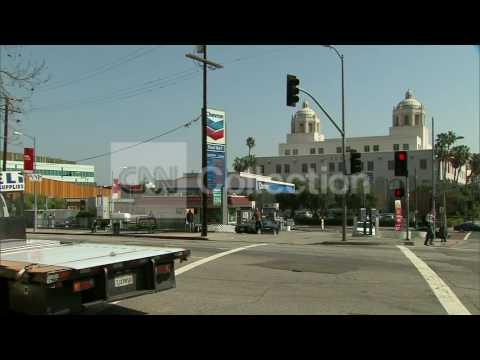 CA:GAS PRICES SOAR IN LA - OVER $5 PER GALLON